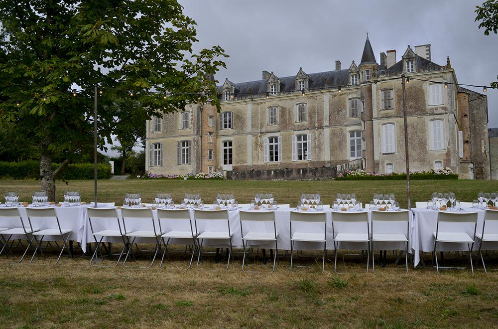 Dîner secret du Voyage, Château du Coing, 2015 © Gino Maccarinelli / LVAN