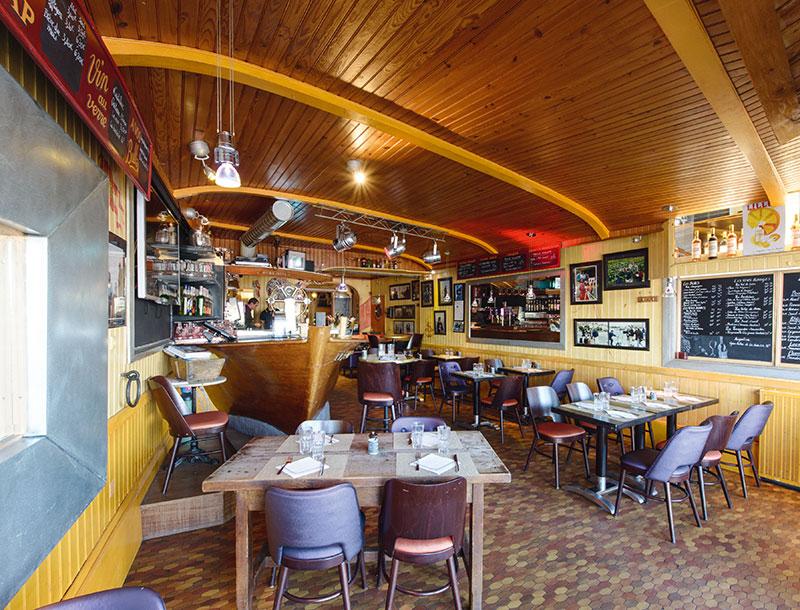 Restaurant La Guinguette Restaurants Et Gastronomie Nantes Les Tables De Nantes