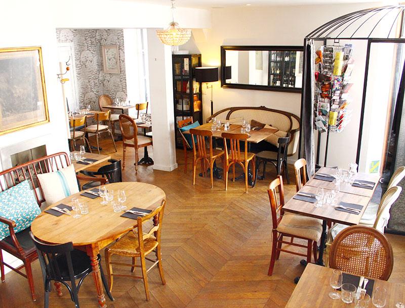 Restaurant Mademoiselle B Restaurants Et Gastronomie Nantes Les Tables De Nantes