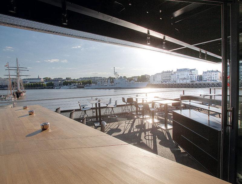 Restaurant O Deck Restaurants Et Gastronomie Nantes Les Tables De Nantes