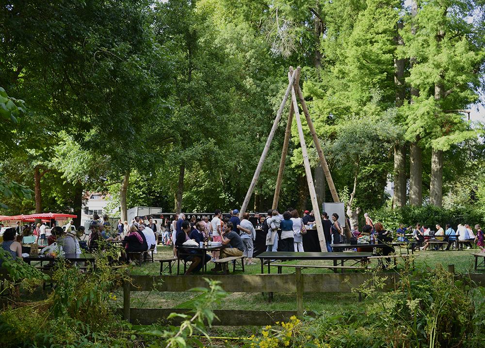 Champ des Producteurs, Parc de la Sèvre, Vertou, 2015 © Gino Maccarinelli / LVAN