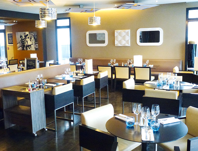 Brasserie Contemporaine Nantes Restaurant Le Carr Blanc Les Tables De Nantes