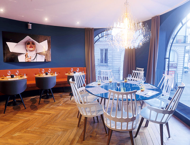 restaurant design nantes centre restaurant charles h les tables de nantes. Black Bedroom Furniture Sets. Home Design Ideas