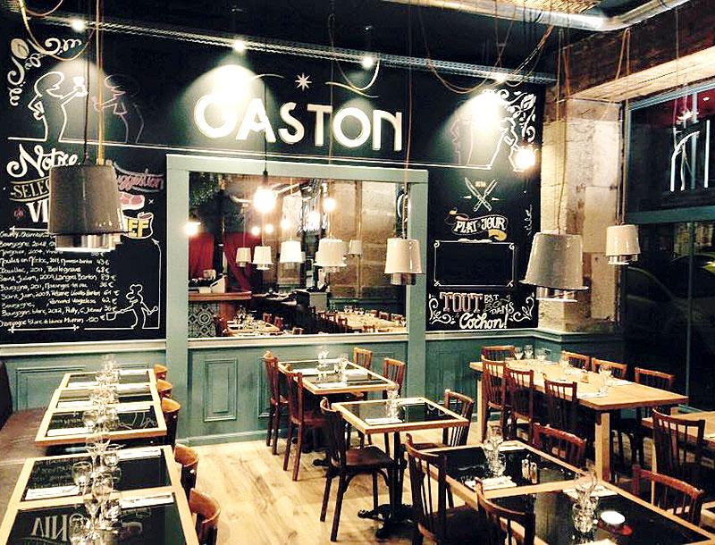 Restaurant Gaston Restaurants Et Gastronomie Nantes Les Tables De Nantes