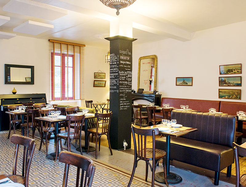R Tisserie Et Cuisine Bistro Nantes Restaurant La Salle Manger Les Tables De Nantes